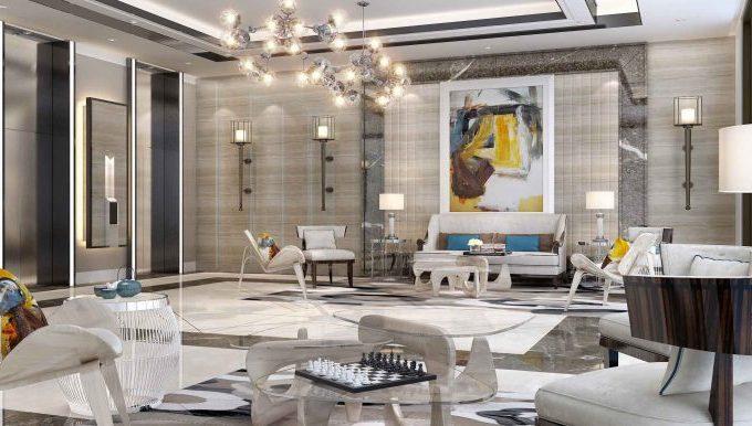 2 غرفة نوم في شقة بمساحة 81.1 م2 في مشروع الحصين السكني من سيتي العقارية