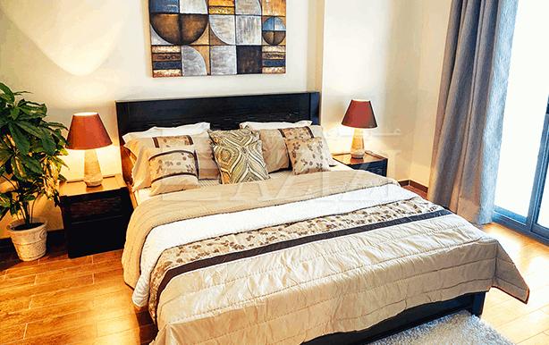 غرفتي نوم في شقة (مطلة على الشارع العام) بمساحة 146 م2، في ايريس من عزيزي للتطوير العقاري