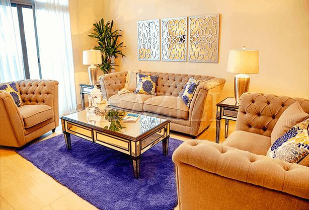 غرفتي نوم في شقة (مطلة على شارع فرعي) بمساحة 130 م2، في ديزي من عزيزي للتطوير العقاري