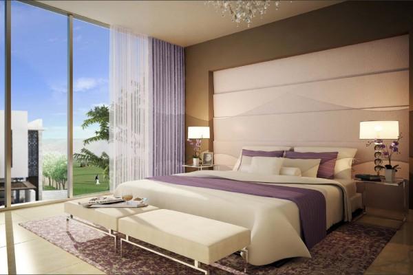 غرفة نوم في شقة بمساحة  122 م2، في اكويا من داماك من داماك العقارية