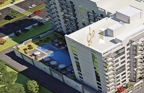 غرفتي نوم في شقة (مطلة على حمام سباحة) بمساحة 158 م2، في فيروز من عزيزي للتطوير العقاري