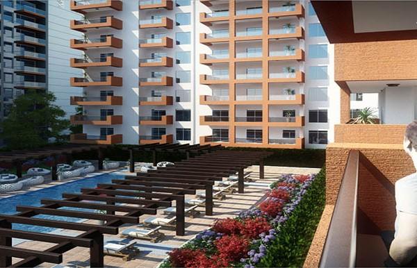 غرفتي نوم في شقة (شارع فرعي) بمساحة 142 م2، في ياسمين من عزيزي للتطوير العقاري