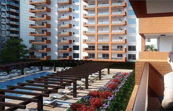 غرفتي نوم في شقة (شارع فرعي) بمساحة 162 م2، في ياسمين من عزيزي للتطوير العقاري